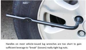 Short Lug Wrench Handle